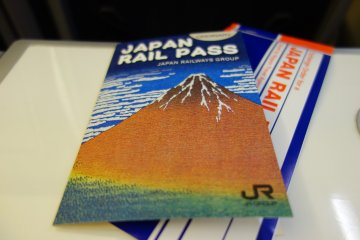 <p>แลกบัตรเบ่ง JR Rail Pass ใบจริงมาแล้ว</p>