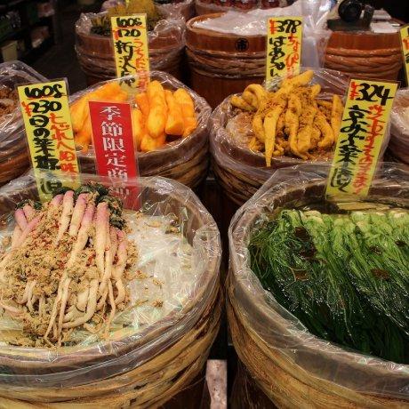 京都・錦市場「打田京漬物店」
