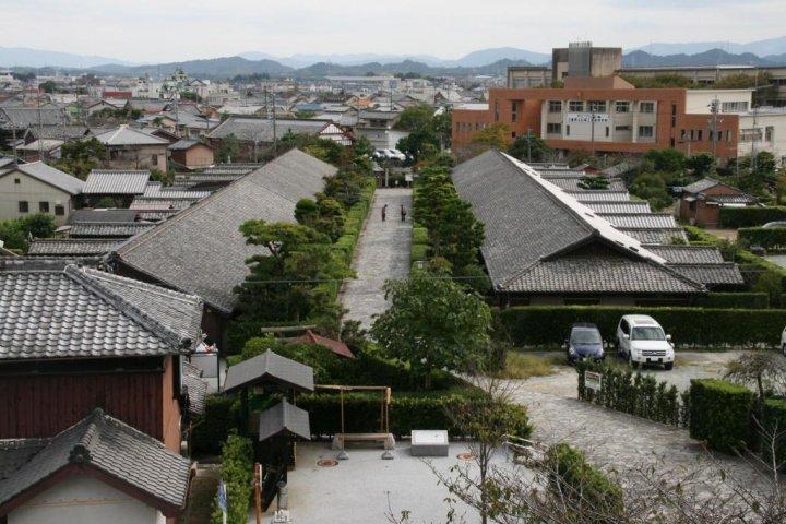 บ้านพักแบบซามูไร และ บ้านของพ่อค้า