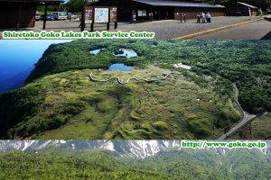 ทัศนียภาพในมุมและทิศต่างๆ ของอุทยานแห่งชาติและทะเลสาบทั้งห้าฌิเระโทะโคะ (知床国立公園) มรดกโลกทางธรรมชาติ (World Natural Heritage)