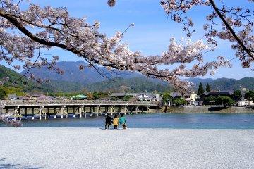 Arashiyama Koen Park ที่เกียวโต