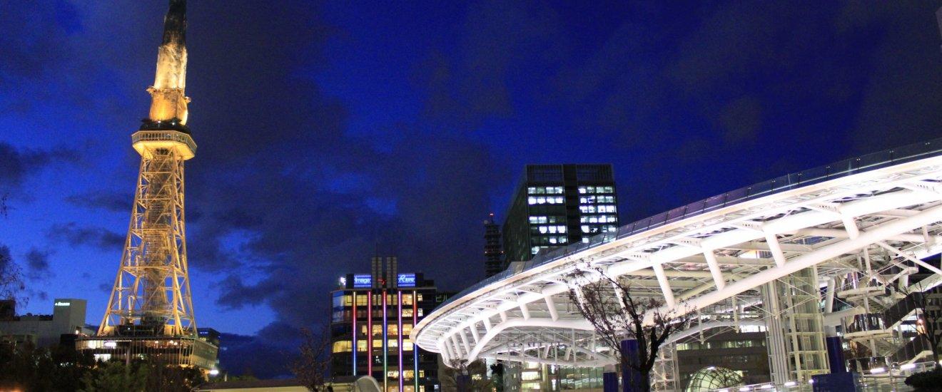 Nagoya TV Tower และ Oasis21 จุดแลนด์มาร์คของย่าน Sakae