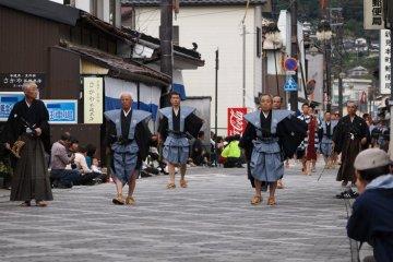 Niimi City Samurai Parade