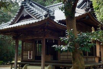 Shrine nearby