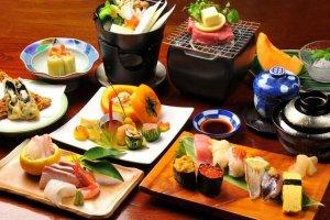 อาหารญี่ปุ่นขึ้นชื่อ