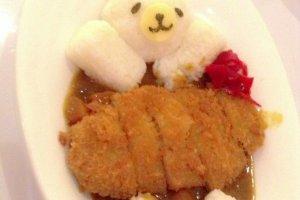 หมีน้อยที่น่ารักซะจนไม่กล้ากิน