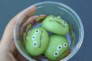 Little Green Aliens Mochi!