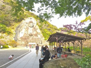 Here's the approach toNihonji Daibutsu. From the NokogiriyamaRopeway, the hike will take approximately 60-minutes.