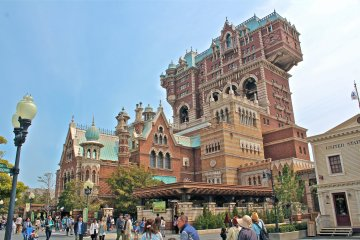 <p>The &#39;Tower of Terror&#39; attraction is an experience that matches exactly how its spelled. Hang on tight!</p>
