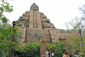 <p>The Lost River Delta port-of-call is located towards the back of the park and features the very exciting Indiana Jones Adventure: Temple of the Crystal Skull.</p>