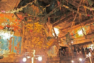 <p>A peek inside the popular attraction, &#39;Indiana Jones Adventure: Temple of the Crystal Skull.&#39; Are you excited yet?</p>