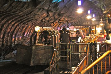 <p>A glimpse of the subterranean vehicle that will take you on a &#39;Journey to the Center of the Earth.&#39;</p>