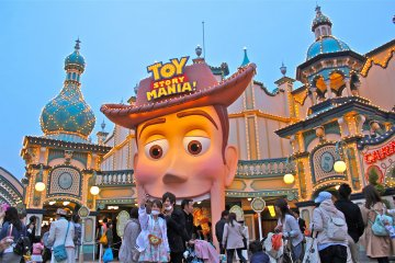 <p>The newest addition to the park, Toy Story Mania. Fun for all ages!</p>