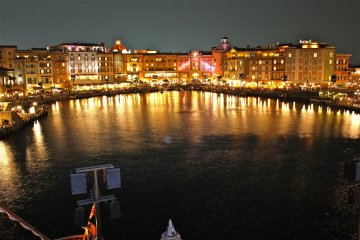 <p>A view of the Mediterranean Harbor from the Fortress Exploration port-of-call.</p>