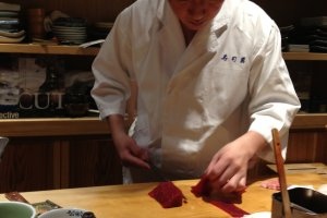 The master at work—skillful and very esthetic