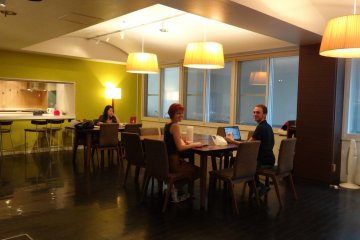 <p>The Dining room is nicely decorated, clean and comfortable.</p>