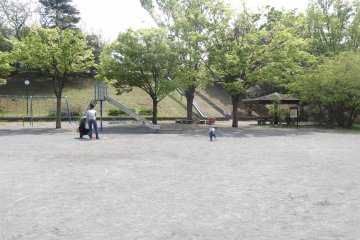 <p>The park near by</p>
