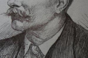A Wirgman self-portrait