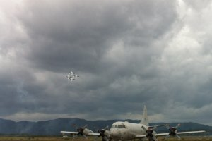 Blue Impulse and P-C3 Orion