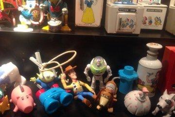 <p>어렸을 때 보았던 디즈니 장난감들도 여기에서 볼 수 있답니다!</p>