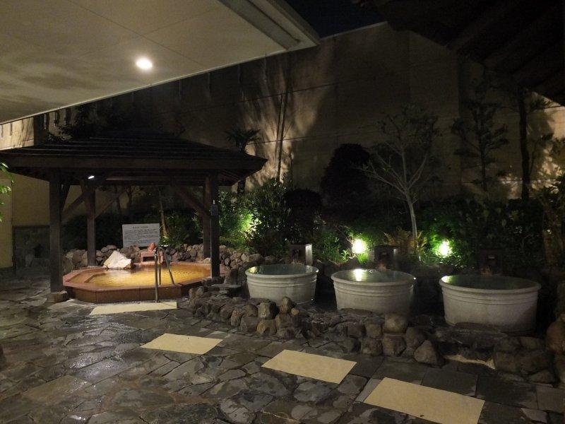 Image result for Natural Hot Spring Naniwa no Yu