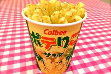 Calbee+ Cafe & Toko Souvenir Odaiba