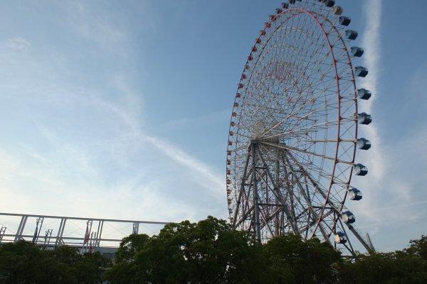Tempozan Ferris Wheel ชิงช้าสวรรค์ที่เคยสูงที่สุดในโลก