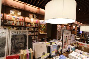 连推销书本的摆设都很有创意!