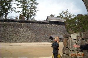 Matsue Castle Citadel entrance