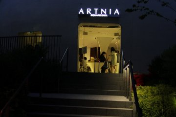 Artnia, the Square Enix Café