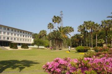 Kyukamura Hotel Resort on the island