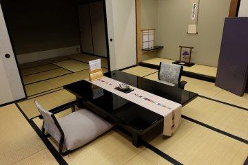 <p>ตัวอย่างห้อง แต่ละห้องถูกตกแต่งในสไตล์ที่ต่างกันไป แต่ล้วนเชื่อมโยงกับธรรมชาติทั้งสิ้น</p>