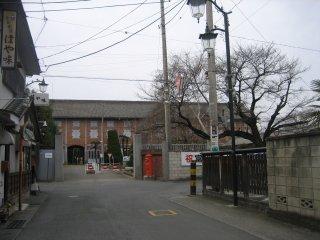 The main entrance of Tomioka Silk Mill
