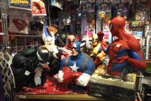ฟิกเกอร์ตัวการ์ตูน Marvel