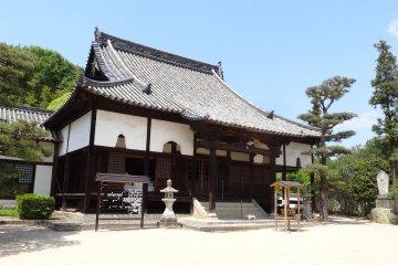 <p>Bitchu-Kokubunji temple</p>