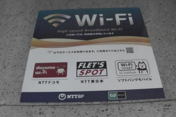 <p>Keep your eyes peeled for the Wi-Fi signs</p>