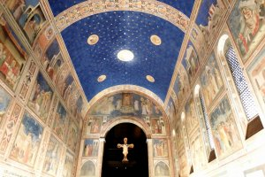 The Scrovegni Chapel fresco by Giotto. You don't have to go all the way to Italy to see this