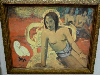 Vairumati by Paul Gauguin. The original is in the Musée d'Orsay, France