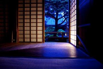 Templo Shoren-in Iluminado