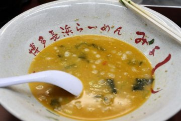 <p>An unforgettable meal at Nagahama Ramen near&nbsp;Kiyamachi and Sanjo&nbsp;Streets in Kyoto</p>