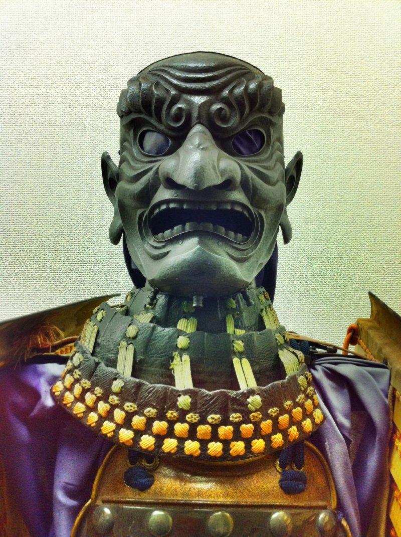Samurai armor in the Yoshiumi Local Culture Center