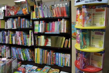 <p>A large and exciting kids&#39; section</p>