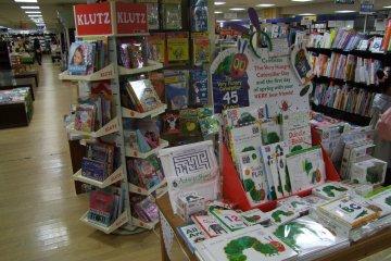 <p>Fun displays in the kids&#39; area</p>