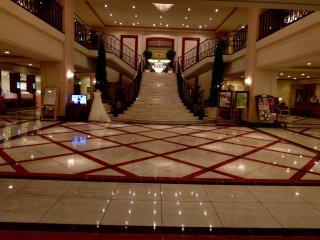 ホテル日航プリンセス京都のエントランスホール