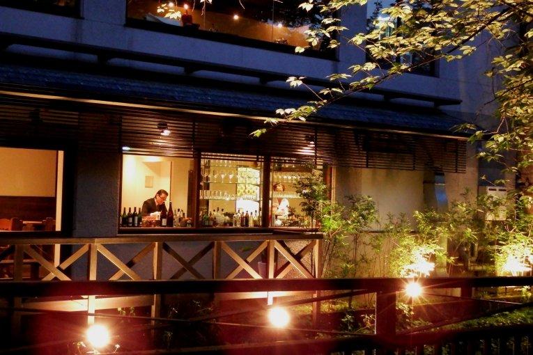 MIKAKU ร้านอาหารตะวันตกในกิออน เกียวโต