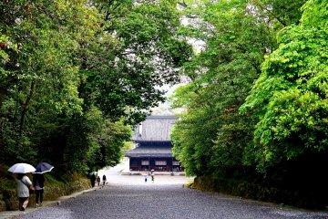 วัด Sennyu-ji ที่เกียวโต