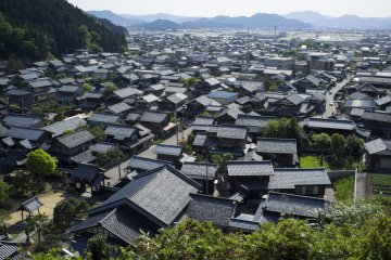 <p>The beautiful Echizen&nbsp;washi&nbsp;village from the top.</p>