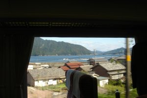 Sit back and enjoy the beautiful rural scenery along the coast of Mie Prefecture