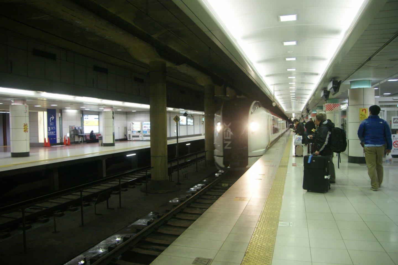 นาริตะเอ็กเพรส Narita Express (N'EX) รถไฟด่วนพิเศษ