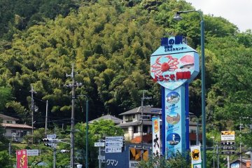 """The Maizuru Port 'Tore Tore"""" Seafood and Fish Markets are just a short drive or bus ride from Nishi Maizuru Railway Station with good connections with the Maizuru International Cruise Ship Terminal"""